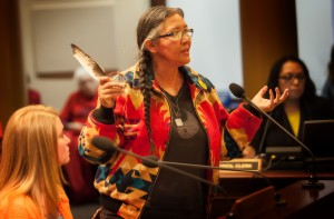 FF Hearing_Kathy?Native Am testifies
