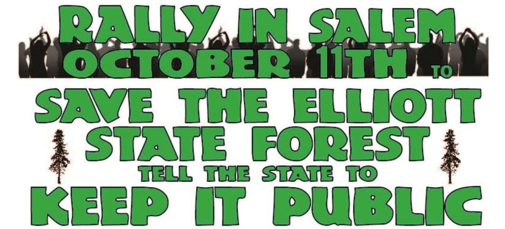Save the Elliott State Forest Rally @ Department of State Lands