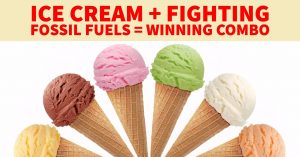 Eat ice cream and protect the PNW from fossil fuels! @ Central Lutheran Church